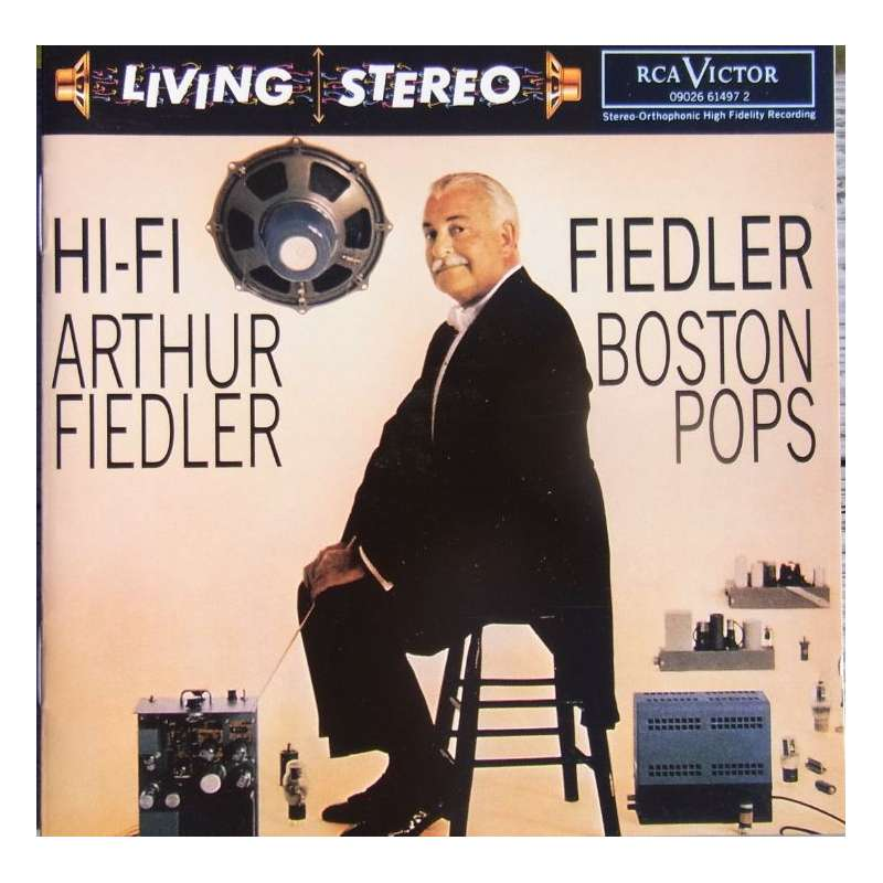 Hi Fi Arthur Fiedler Boston Pops Orchestra Cd Plade