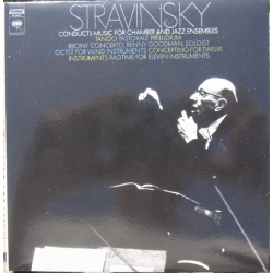 Stravinsky conducts music for chamber and Jazz ensembles. 1 cd. Sony