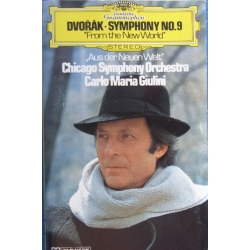 Dvorak: Symfoni nr. 9. Giulini, Chicago SO. 1 MC. DG