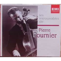 Pierre Fournier: The Art of. Portrait of an cello player. 4 CD. EMI