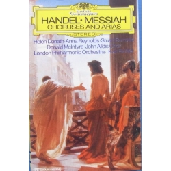 Handel: Messiah. Choruses and Arias. Karl Richter, LPO. 1 MC. DG