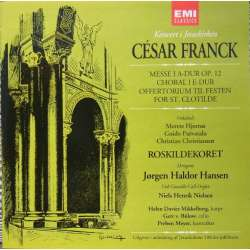 Franck: Mass in A flat major. Roskilde koret. Jørgen Haldor Hansen. 1 CD. EMI