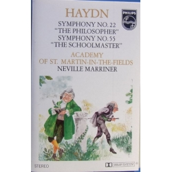 Haydn: Symfoni nr. 22 & 55. Neville Marriner, Academy. 1 MC. Philips