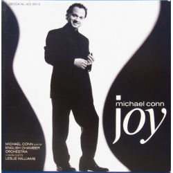 Michael Conn: Joy. Bach, Satie. ECO. Leslie Jones. 1 CD. Decca.