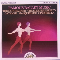 Famous Ballet Music. The Nutcracker, Sleeping Beaty, Gayaneh, Belohlavek. 1 CD. Supraphon