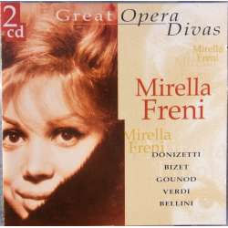 Mirella Freni: Great opera Divas. 2 CD. DCL