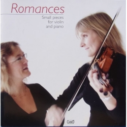 Romances. Small pieces for violin and piano. Humle, Karlshøj. 1 CD. Classico