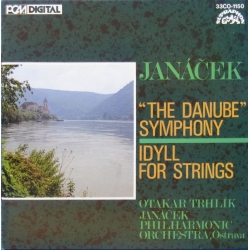 Janacek: The Danube Symphony. + Idyll for Strings. Otakar Trhlik, Janacek PO. 1 CD. Supraphon