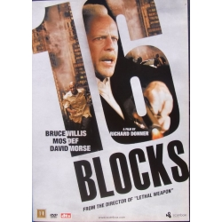 16 Block. Bruce Willis, David Morse, Mos Def. 1 DVD