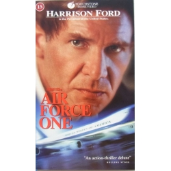 Air Force One. Harrison Ford. 1 VHS Bånd