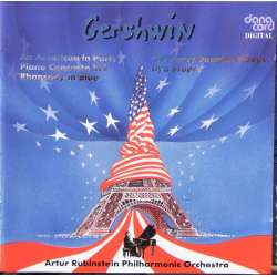 Gershwin: American in Paris, Klaverkoncert, Rhapsody in Blue. ARSO. Stupel. 1 CD. Danacord