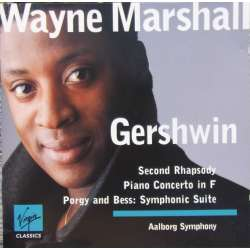 Gershwin: Klaverkoncert. + Porgy og Bess suite. Aalborg SO, Marshall. 1 CD. Virgin
