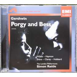 Gershwin: Porgy and Bess. Willard White, Cynthia Haymond. Simon Rattle. 1 CD. EMI