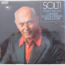 Solti conducts music from Carmen, Eugene Onegin, Prince Igor. 1 LP Decca SET 622. Nyt eksemplar
