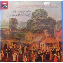 Music for Trumpet & Organ, Maurice Andre, Alfred Mitterhofer. 1 LP. EMI. ASD 3318