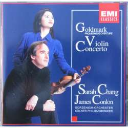 Goldmark: Violinkoncert. Sarah Chang, James Conlon. 1 CD. EMI