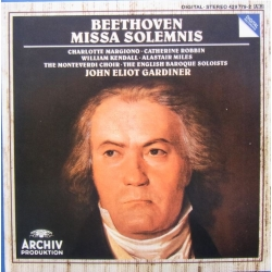 Beethoven: Missa Solemnis. Gardiner, The Monteverdi Choir, EBS. 1 CD. Archiv