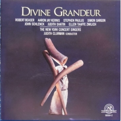 Divine Grandeur. The New York Concert Singers, Judith Clurman. 1 CD. NWR