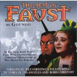 Gounod: The Best of Faust. Gedda, los Angeles, Christoff. Andre Cluytens. 1 CD. Prism