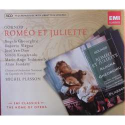 Gounod: Romeo et Juliette. Alagna, Gheorghiu. Plasson. 3 CD. EMI. The home of opera