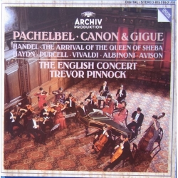Pachelbel: Canon & Gigue. Trevor Pinnock, The English Consort. 1 CD. Archiv