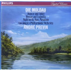 Die Moldau, Romeo and Juliet, Ruslan and Ludmilla. Andre Previn. 1 CD. Philips