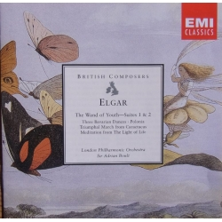 Elgar: The Wand of Youth Suites nos. 1 & 2. Adrian Boult, LPO. 1 CD. EMI