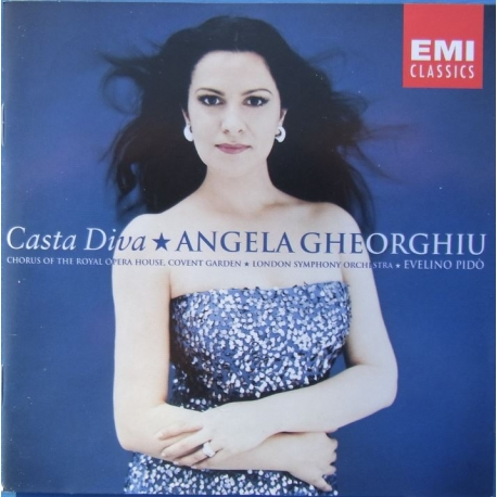 Casta Diva. Angela Gheorghiu. Chorus of the Royal opera house, Covent Garden, London Symphony Orchestra, Evelino Pido. 1 CD. EMI