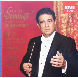 Placido Domingo sings and conducts Tchaikovsky. 1812. 1 CD. EMI