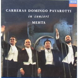 De 3 tenorer. Carreras, Domingo, Pavarotti in Concert. 1 CD. Decca