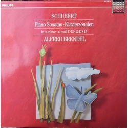 Schubert: Klaversonate D 784 & D 845. Alfred Brendel. 1 LP. Philips