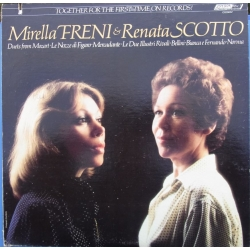 Mirella Freni & Renata Scotto: Duets from Mozarts operas. 1 LP. Decca