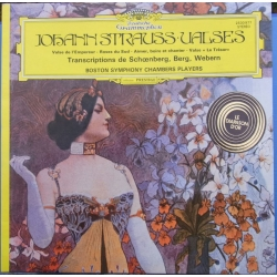 Johann Strauss Waltzer, Transcriptions of Schönberg, Berg, Webern. Boston Symphony Chamber Players. 1 LP. DG. 2530977