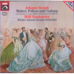 J. Strauss: Walzer, Polkas and Galops. Willi Boskovsky. 1 LP. EMI. Nyt eksemplar