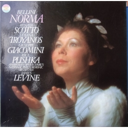 Bellini: Norma. Scotto, Troyanos. James Levine. 3 LP. CBS 79327
