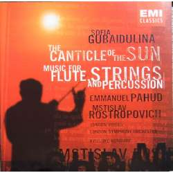 Gubaidolina: The Canticle of the Sun. Pahud, Rostropovich. 1 CD. EMI