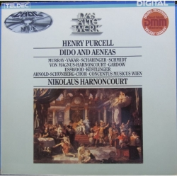 Purcell: Dido and Aeneas. Nikolaus Harnoncourt. 1 LP. Teldec
