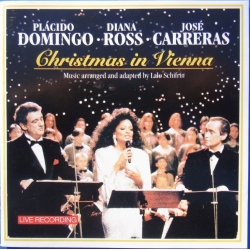 Christmas in Vienna. Placido Domingo, Diana Ross, Jose Carreras. 1 CD. Sony.