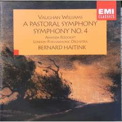 Vaughan Williams: Symfoni nr. 3 & 4. London PO. Bernard Haitink. 1 CD. EMI