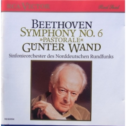 Beethoven: Symphony no. 6. Gunter Wand, NDR. 1 CD. RCA. RD 60094