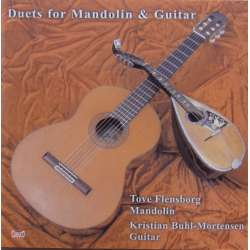 Duets for Mandolin and guitar. Tove Flensborg. K. Buhl Mortensen. 1 CD. Classico 759