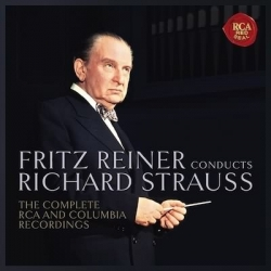 Fritz Reiner dirigerer Richard Strauss. 11 CD. RCA