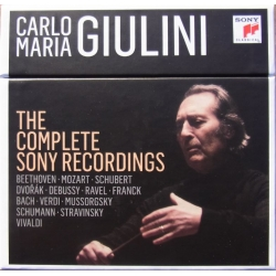 Carlo Maria Giulini: The Complete Sony Recordings. 22 CD.