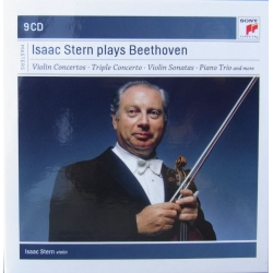Isaac Stern spiller Beethoven. 9 CD. Sony