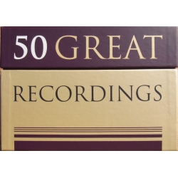 50 Great Recordings. 50 CD. Sony & RCA & DHM