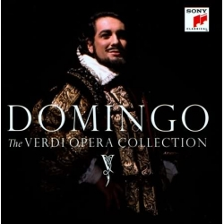 Domingo: The Verdi Opera Collection. Aida, La forza del destino, Otello, il Trovatore, I vespri siciliani, Luisa Miller.15 CD.