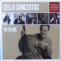 Cello Concertos. Yo-Yo Ma. Original Album Classics. 5 CD. Sony