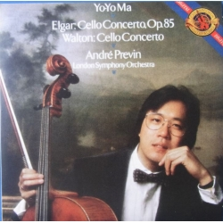 Elgar: Cello Concerto & Walton: Cello Concerto. Yo-Yo Ma, Andre Previn, London Symhony Orchestra. 1 CD. Sony
