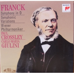 Franck: Symphony in D. Symphonic Variations. Paul Crossley, Carlo Maria Giulini. Vienna PO. 1 CD. Sony