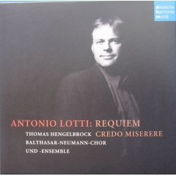 Antonio Lotti: Requiem. Thomas Hengelbrock, Balthasar Neumann Chor und ensemble. 1 CD. DHM.